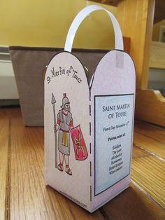 wee little miracles: Celebrate St. Martin of Tours {Free Martinmas Lantern Printable!