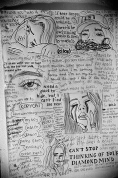 Best lyrics of billie eilish, sad drawings, pencil drawings, Sad Drawings, Pencil Art Drawings, Art Drawings Sketches, Couple Drawings, Lyric Drawings, Billie Eilish, Letras Cool, Cool Lyrics, Best Lyrics