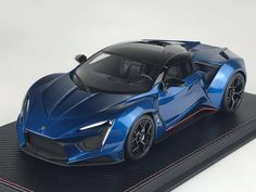 Frontiart closed 1:18 W Motors Fenyr in transparent blue For buying, jefferson@fronti-art.com