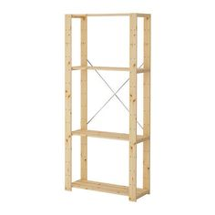 IKEA Shelf HEJNE 1 section, softwood - 78x50x171 cm