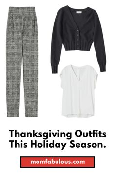 Can you believe that Thanksgiving is among us already? Here's 18 Thanksgiving outfits to awe your family with this season. #MomLife #MomFabulous #Mom #Thanksgiving #thanksgivingoutfits #fashion #ootd #fashionista #outfitideas #holidays Holiday Style, Holiday Fashion, Spring Fashion, Winter Fashion, Hostess Outfits, Mom Outfits, Stylish Outfits, Friday Outfit, New Years Outfit