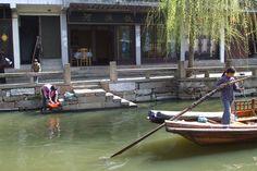 A canal view of Zhouzhang @Shanghai, China, 2007