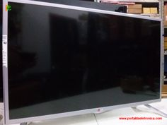 Televisor LG LED 32LB560B-SA, sem imagem.