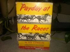 Payday at the Races by Les Conklin | Used, Rare, Vintage and Out of Print Books - www.ValiumBlueBooks.com #Books