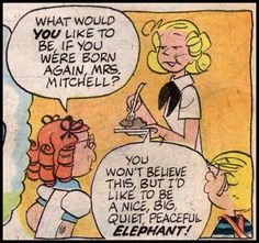 Something is. Alice mitchell comic dennis the menace porn