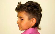 стильная стрижка для мальчика