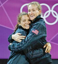 Misty May-Treanor & Kerry Walsh-Jennings win Gold in Beach Volleyball