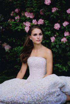 ❦ Natalie Portman for Miss Dior by Tim Walker, 2013