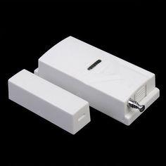 315MHz Wireless Door Magnetic Contact Sensor For Home Security