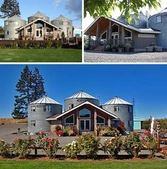 Silo bed and breakfast