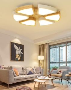 Ceiling Lights Living Room Lamp Led Ceiling Lamp Simple Modern Childrens Room Lamp Round Personality Creative Lighting