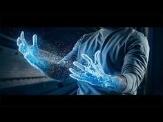 photoshop ice hands effect