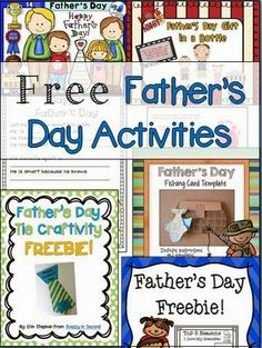 Free FathersDay Printables From Guildcraft Arts Crafts 1 Dad
