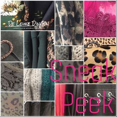 Happy with our new stuff💕 www.deleukedingen.nl #fashion #accessoires #tops #lace #leopard #leatherlook #shoes #bags #musthaves #shopping @deleukedingen