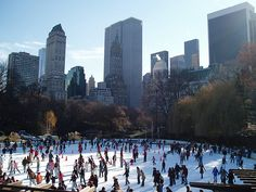 Whether you are a New York City resident or a tourist visiting, one of the more popular outdoor activities during the Fall and Winter months is going ice skating at Trump Wollman Rink in Central Park. Located at the South end of the park, the ice rink is easily accessed from the 59th Street and Central Park South entrance.