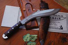 12 Inch Afghanistan Desirt Issue Kukri - genuine gurkha kukri - kukris knives online - kabar kukri