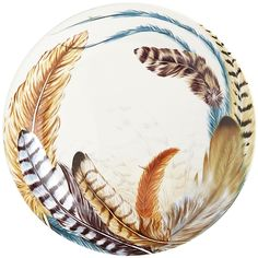 pier one dishes with feather print - Google Search