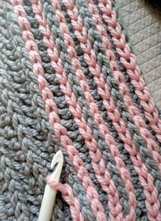 My latest obsession and a total blast for any crocheter! It\'s so simple, it feels like cheating. Surface crochet is a way to crochet (slip stitch) on top