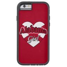 Alabama Girl Barely There iPhone 6 Girl Cases, Alabama, Iphone 6, Phone Cases, Phone Case
