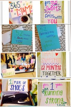 1 year anniversary gifts for him ideas boyfriend pinterest