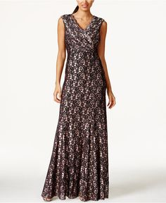 Tahari ASL Lace Gown - Mother of the Bride - Women - Macy's