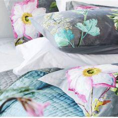 Designers Guild Madhuri Camellia Sham #floralbedding #beautifulbedding