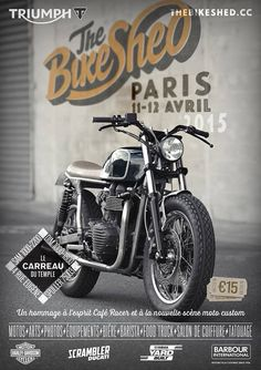 THE BIKE SHED MOTORCYCLE CLUB | Carreau du Temple