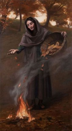 Autumn is right around the corner! Hope everyone had a blessed Lammas! Maureen Hyde - Autumn, 2011