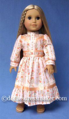 American Girl Doll ~ Julie Gunne Sax inspired dress.