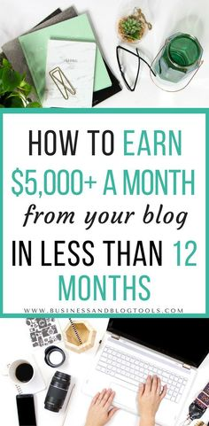 Great blogging tips from new bloggers about how they monetized their blogs and made over $5,000 a month in LESS than a year