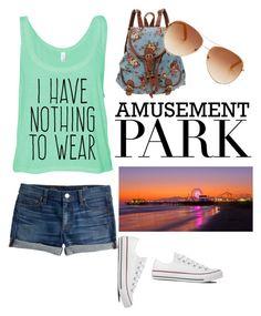 amusement park outfit + essentials