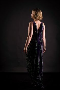 Marijke Peeters MAaI design costume design portrait art Belgium Vionnet Inspired