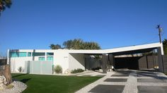 Another beautiful mid-mod house, Palm Springs, CA