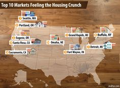 The nation's housing market is suffering from a lack of homes for sale. Here's where the shortage is most severe—and getting worse.