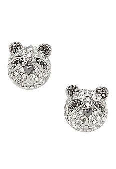 Fossil® Panda Stud Earrings #Belk #Jewelry