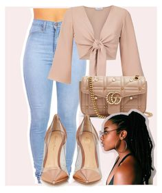 """January 27"" by myajennings ❤ liked on Polyvore featuring Olympiah, Gucci and Gianvito Rossi"
