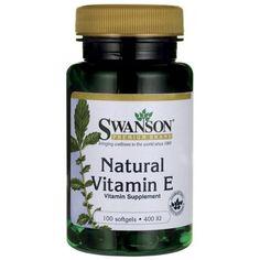 Swanson Vitamin E Natural 400 IU 100 Softgels