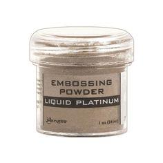 EPJ37484 /1.1 - Ranger Embossing Powder LIQUID PLATINUM EPJ37484 Jennifer McGuire recommendation
