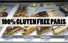 My list of 100% gluten free restaurants, cafes and bakeries in Paris - a surprising gluten free heaven! - Gluten free restaurants in Paris.