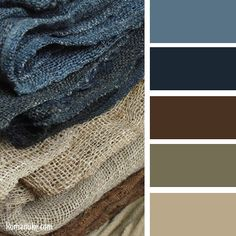Bathroom Color Schemes Brown Blue Rustic