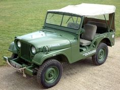 1953 Willys Jeep M38A-1. The warrior!