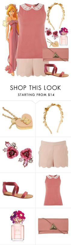 """""""Giselle - Casual - Disney Bound"""" by rainbowbaconcupcake ❤ liked on Polyvore featuring Louis Vuitton, H&M, Betsey Johnson, Lipsy, Enzo Angiolini, Dorothy Perkins, Marc Jacobs, Moss Mills, women's clothing and women's fashion"""