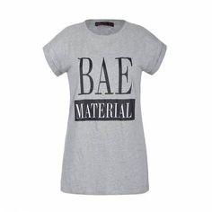 BAE MATERIAL ROLL SLEEVE TEE