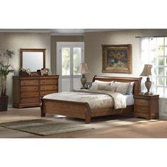 Wilshire 4 Piece Queen Bedroom Set Featuring The Gentleman 39 S Chest Future Home Pinterest