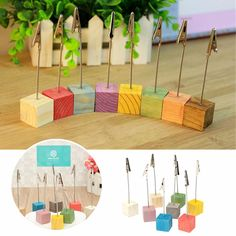 Wooden Place Card Holders Wedding Office Meeting Table Invitation Name Card Clips is personalized, see other cheap wedding accessories on NewChic. Meeting Table, Office Meeting, Wedding Favors, Wedding Events, Wedding Decorations, Decor Wedding, Invitation Card Design, Mod Wedding, Table Wedding