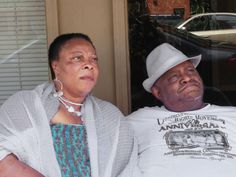 Patsy and Winfred after the screening at Americus-Sumter County Movement Remembered Committee, Inc.
