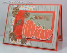 Fall Fest Photopolymer Bundle; For All Things Stamp Set; Motlley Monsters DSP; Champagne Glimmer Paper; Tangerine Tango Ink; Old Olive Ink; Sahara Sand Ink; Sahara Sand CS; Tangerine Tango CS; Whisper White CS; Crushed Curry Ink