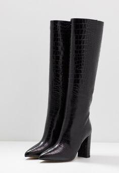 Bianca Di High Heel Stiefel - nero - Zalando.at High Heel Boots, Heeled Boots, High Heels, Baby Tv Show, High Heel Stiefel, Booty, Ankle, Shoes, Fashion