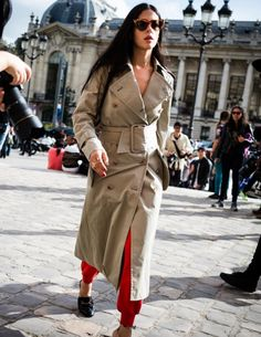 style / trench / fashion