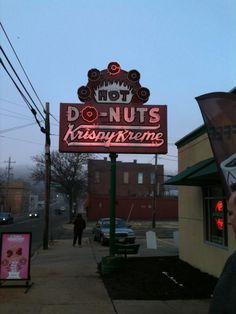 Krispy Kreme from @nikki_vz